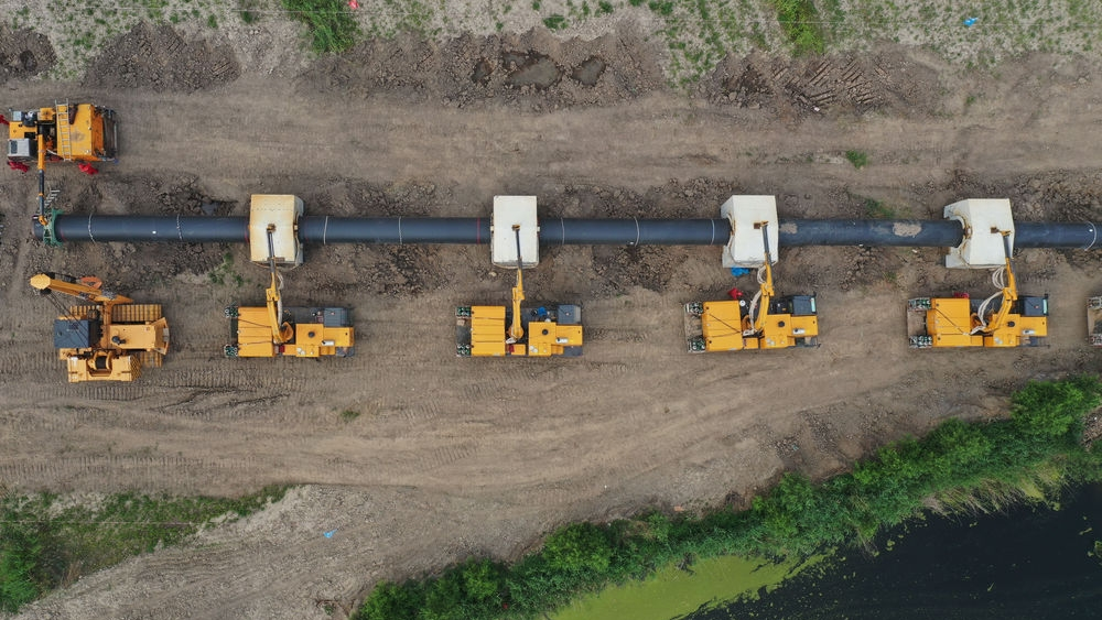 曹妃甸新天LNG接收站外输管线项目稳步推进