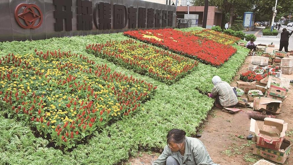 图说唐山丨花团锦簇迎国庆